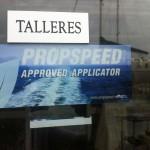 Taller Autorizado Aplicador Oficial Propspeed.